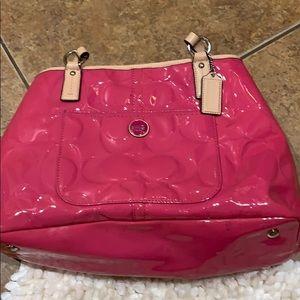 Authentic pink Coach purse